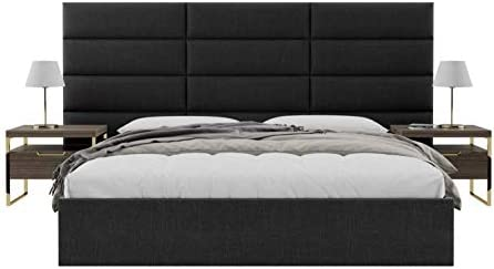 V nt Upholstered Wall Mounted Headboard Panels - the best modern headboard for the money