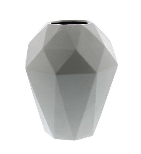 - Deco 79 60774 Geometric Ceramic Urn Vase, 12