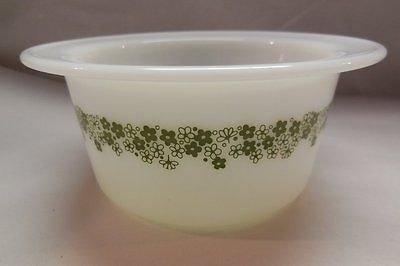 Pyrex Crazy Daisy Spring Blossom Butter Tub Bowl