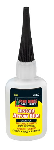 Pine Ridge Archery Instant Arrow Glue, 1-Ounce
