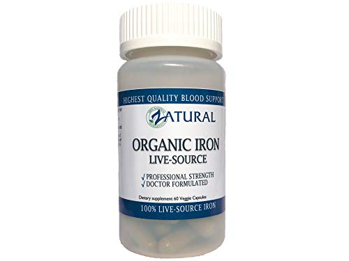 Organic Iron_Live-Source Complex | Blood Builder | Energy Booster | Ear Ringing (1) Review