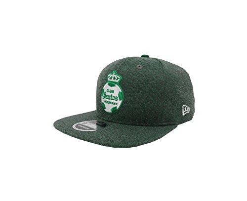 New Era 9Fifty Hat Santos Laguna Soccer Club Liga MX Official Gray Snapback (Santa Club)