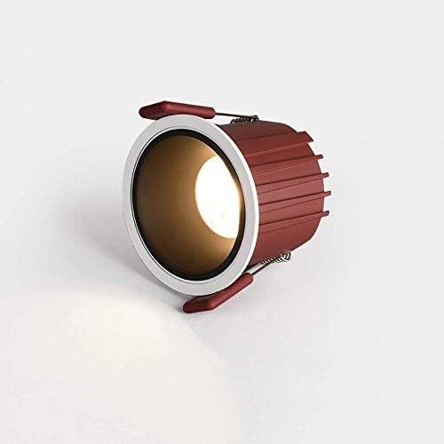 12W Verlichting LED Downlight Ronde Verzonken COB Spotlight Energiezuinig Zacht Licht Antiroest Plafondpaneel Licht voor Gang