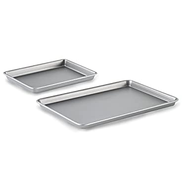 Calphalon Nonstick Bakeware, Brownie Pan and Baking Sheet, 2-Piece Set