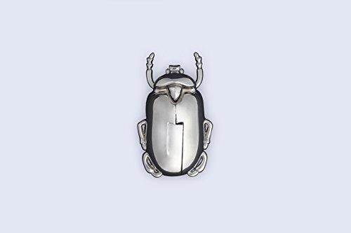 Doiy Beetle Winged Wine Bottle Opener Corkscrew Silver Deal (Large Image)