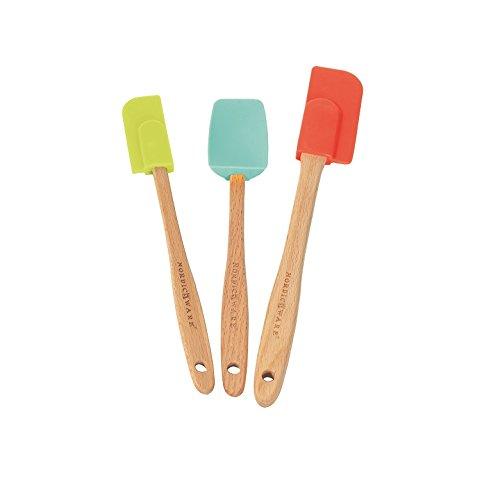 icone Baking Spatulas (Set of 3), Multicolor ()