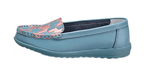 perfectaz-women-comfortable-pu-printed-pattern-rubber-sole-low-top-flat-moccasin-gommino-loafers-sho