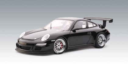 Porsche 911 996 GT3 RSR Plain Body Black 1/18 Autoart Diecast Model
