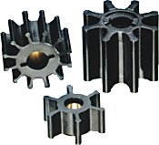 [Jabsco 17018-0001 Marine Replacement Impeller (Neoprene, M Silhouette, 3
