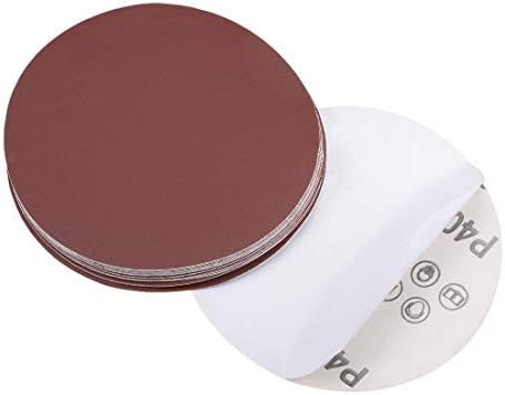 - 5-inch PSA sanding disc, aluminum oxide adhesive, back sandpaper, 400 grit, 15 pieces