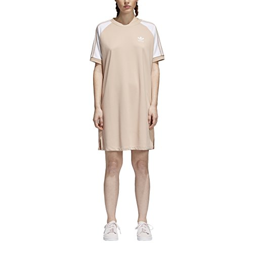adidas Originals Women's Raglan Dress Ash Pearl Medium