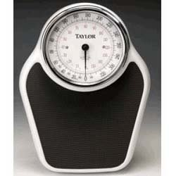 Taylor / Salter 852ES Analog Scale, Easy-to-Read Dial