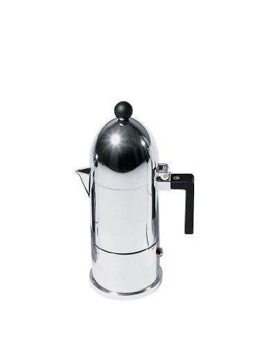 Alessi A9095/3 B La Cupola Espresso Coffee M. Mug, Black by Alessi