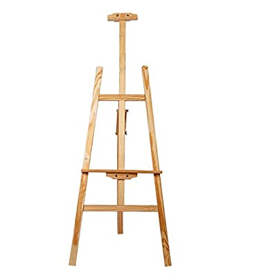 painting easel 1.75 m solid wood wooden easel can be lifted display wooden tripod advertising display stand easels