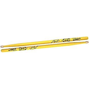 zildjian josh dun artist series drumsticks trench yellow musical instruments. Black Bedroom Furniture Sets. Home Design Ideas