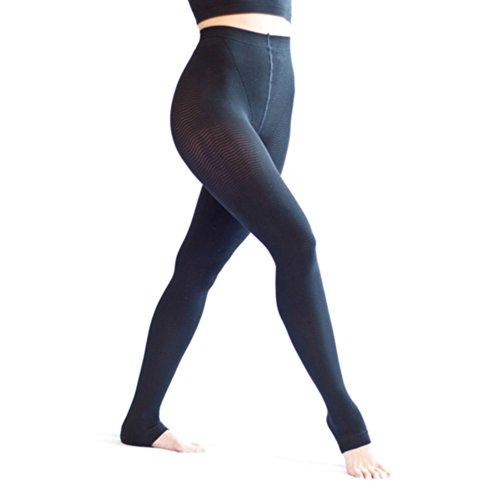 Solidea Women's Active Massage Long Large Black by Solidea
