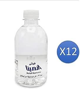 فونتي أزورينا مياه معدنية طبيعية - 0.33 لتر X 12 عبوة