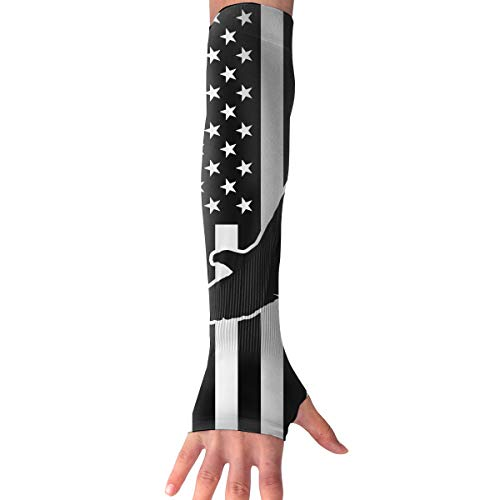 American Eagle Gloves - Horizon-t Arm Sleeves American Flag Eagle Outdoor Athletic Protective Sleeve Long Sleeves Glove