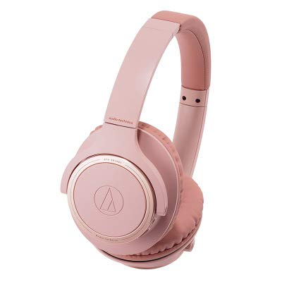 XHN Over Ear Wireless Headphones, Bluetooth 3D Stereo Wireless Headset, Stereo Headphones with Adjustable Headband Bluetooth 5.0 with Battery Indicator-Pink