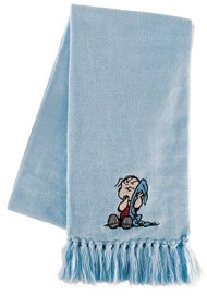 Linus Costume Peanuts (Adult's and Child's Peanuts Linus Scarf)