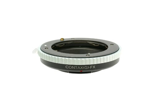 Gadget Place Contax G Lens Adapter for Fujifilm X-T1 IR X-T10 X-A2 X-E2 X-A1 X-M1 X-E1 X-Pro1 by Gadget Place