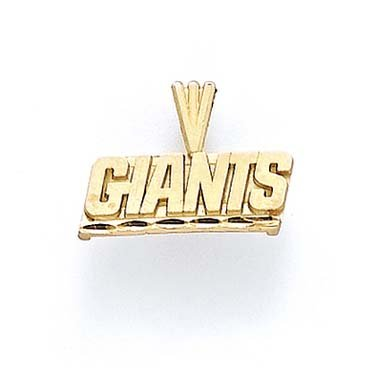 NY Giants 14 Carats Pendentif JewelryWeb