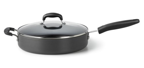 Calphalon Simply Traditional Hard Anodized Nonstick 5-Quart Saute with Cover