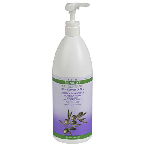 Medline - MSC094820UNSC Remedy Unscented Olivamine Skin Repair Cream and Body Lotion, 32 Fluid Ounce