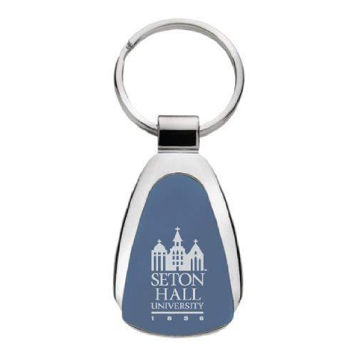LXG Seton Hall University - Teardrop Keychain - Blue