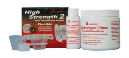 Alumilite High Strength 2 Flexible Mold Casting Kit
