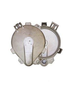 Campbell Mfg LWC6 6'' Locking Watertight Cap, Aluminum