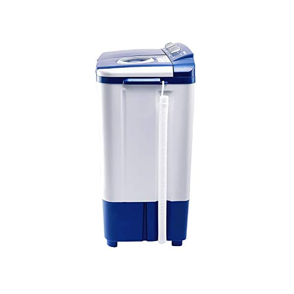 Panasonic 6.5 kg 5 Star Semi-Automatic Top Loading Washing Machine (NA-W65E5ARB, Blue, Powerful Motor) 2021 June Semi-automatic washing Machine: Economical, Low water and energy consumption; Has both washing and drying functions Capacity 6.5 Kg: Suitable for families with 3 to 4 members ; 1350 RPM: Higher the Spin speed,lower the drying time Manufacturer Warranty: 2 years on product and 5 years on Motor