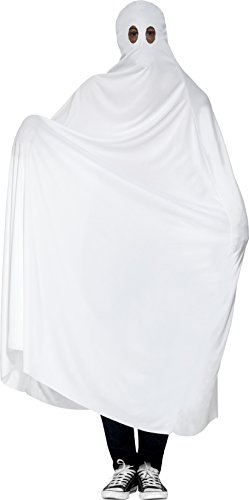 [Smiffy's Men's Ghost Costume, Gown, Legends of Evil, Halloween, Size ML, 44354] (Ghost Baby Halloween Costume)