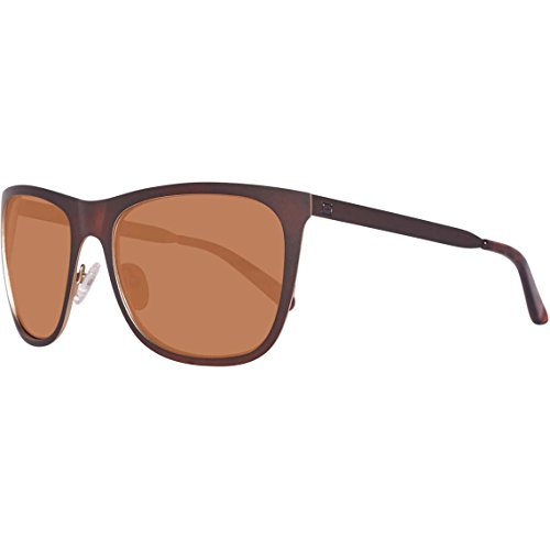 Guess GU 6881 49H 58mm Matte Dark Brown / Brown Polarized - Sunglasses Guess Prescription