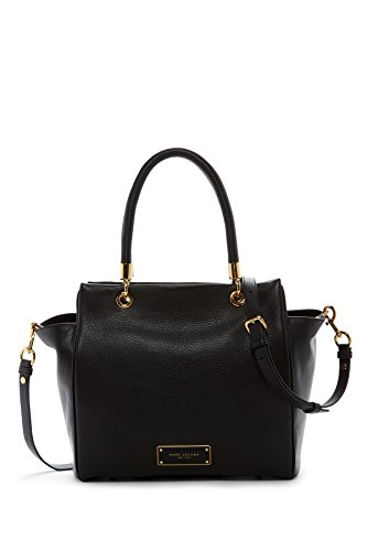 Marc Jacobs Too Hot To handle Leather Tote Shoulder Bag (Black) by Marc Jacobs