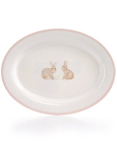 Martha Stewart Collection Easter Oval Platter