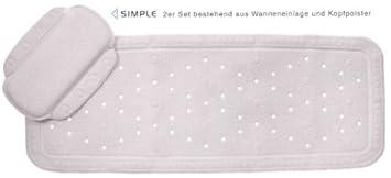 Frisch BADEWANNENEINLAGE BADEWANNENMATTE WANNENEINLAGE ANTIRUTSCHMATTE  OV86