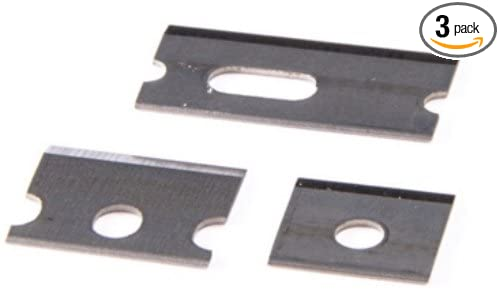 Clamshell. Pack of 3 Platinum Tools Platinum 12507BLC Replacement Blade Set, 3pc for PN 12507C