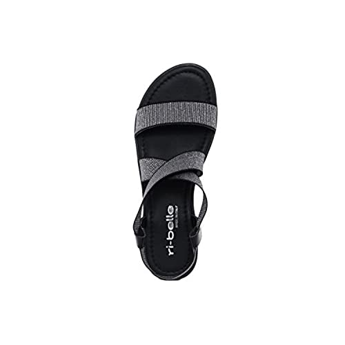 RI-BELLE - FEMME - T995_148190_BLK - sandale hot sale 2017