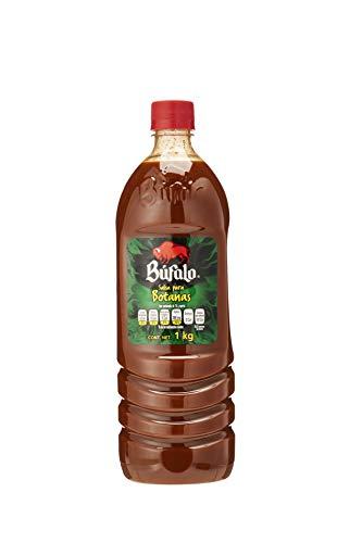 2 x BUFALO SALSA PICANTE - BUFALO HOT SAUCE 1kg Made in Mexico