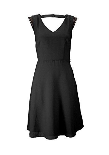 BUFFALO DamenKleid Kleid mit Strass Schwarz Größe 32 -kolping ...