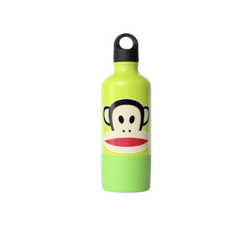 Paul Frank Drinking Bottle with Cup, Green