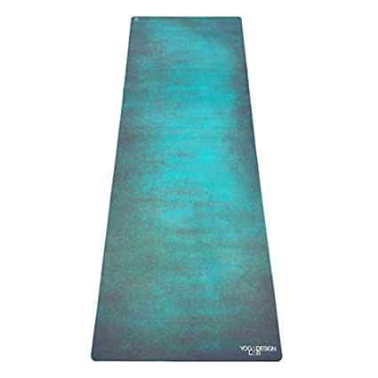 a9a145cdc6 YOGA DESIGN LAB | The Travel Yoga Mat | 2-in-1 Mat+Towel | Lightweight,  Foldable, Eco Luxury | Ideal for Hot Yoga, Bikram, Pilates, Barre, Sweat |  1mm Thick ...