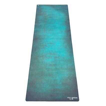30145603628df6 YOGA DESIGN LAB | The Combo Yoga MAT | 2-in-1 Mat+Towel | Eco Luxury |  Ideal for Hot Yoga, Power, Bikram, Ashtanga, Sweat | Studio Quality |  Includes ...