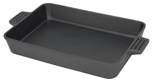 Bayou Classic 7473 7473-Cast Iron Rectangular Cake Pan, 9 by 13