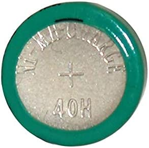 40H 1.2 Volt NiMH Button Cell Battery (H40) (3)