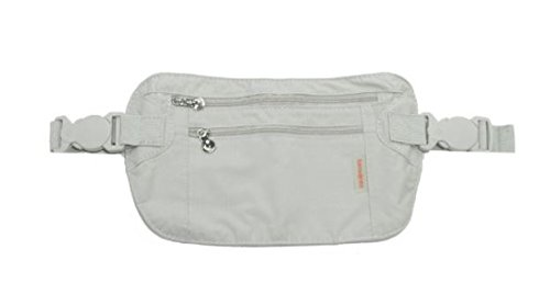 Samsonite Double Pocket Money Belt - Beige 45544 1030 BEIGE