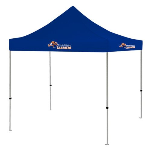 Georgia Highlands 9 ft x 9 ft Royal Tent 'Official Logo' by CollegeFanGear