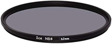 ICE 62mm ND8 フィルター ニュートラルデンシティー ND 8X 62 3ストップ 光学ガラス