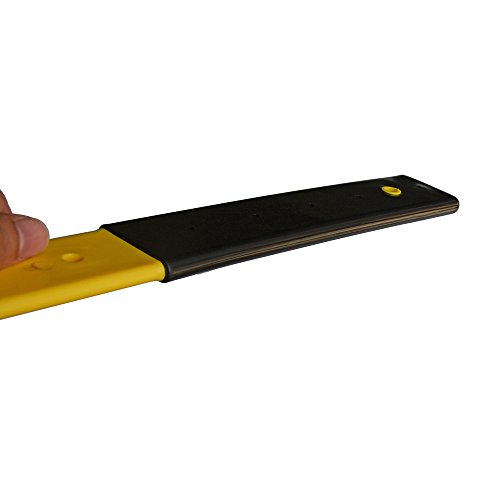 Ehdis 5 Inch Wide Blade 12.5 Inch Long Handle Car Scraper Plastic Water Squeegee with Black Rubber Grip Handle for All Types of Window Tint Film, Decals, Wrapping by Ehdis (Image #7)